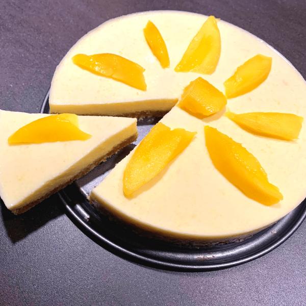 mango kwarktaart ontbijttaart